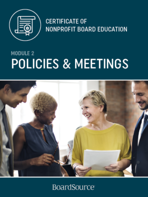 Bylaws, Policies, and Meetings
