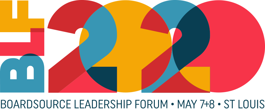 BoardSource Leadership Forum in St. Louis Missouri May 7-8, 2020