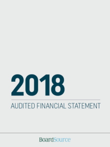 2018 Audited Financial Statement