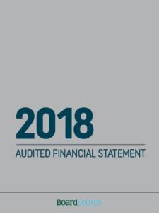 2018 Audited Financial Statement