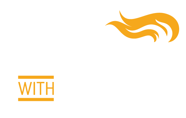 Leading with Intent | White logo