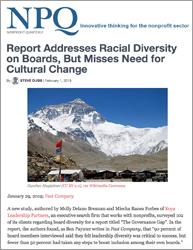 NPQ Report Cover