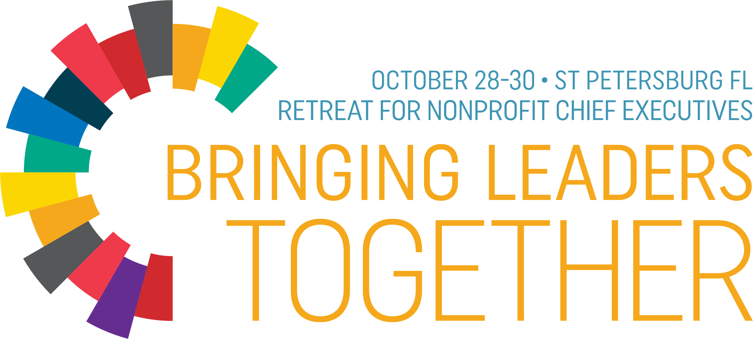 2019 Executive Retreat Logo | Bringing Leaders Together | October 28-30 | St. Petersburg, Florida
