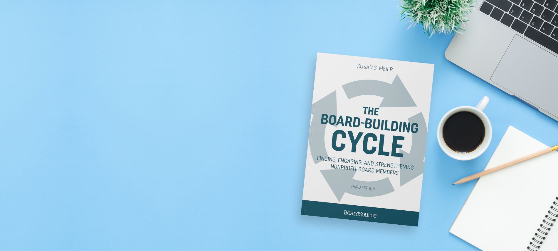 Board Building Cycle - Book On Desk