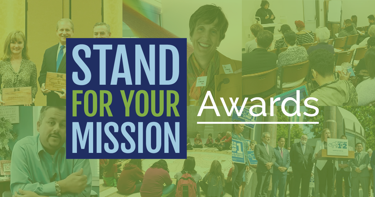 Stand For Your Mission | Award Finalist