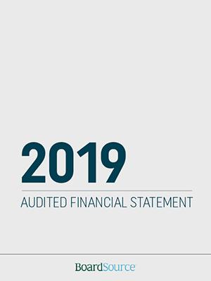 2019 Audited Financial Statement